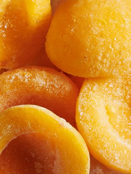 Frozen fruits IQF : Apricot halves