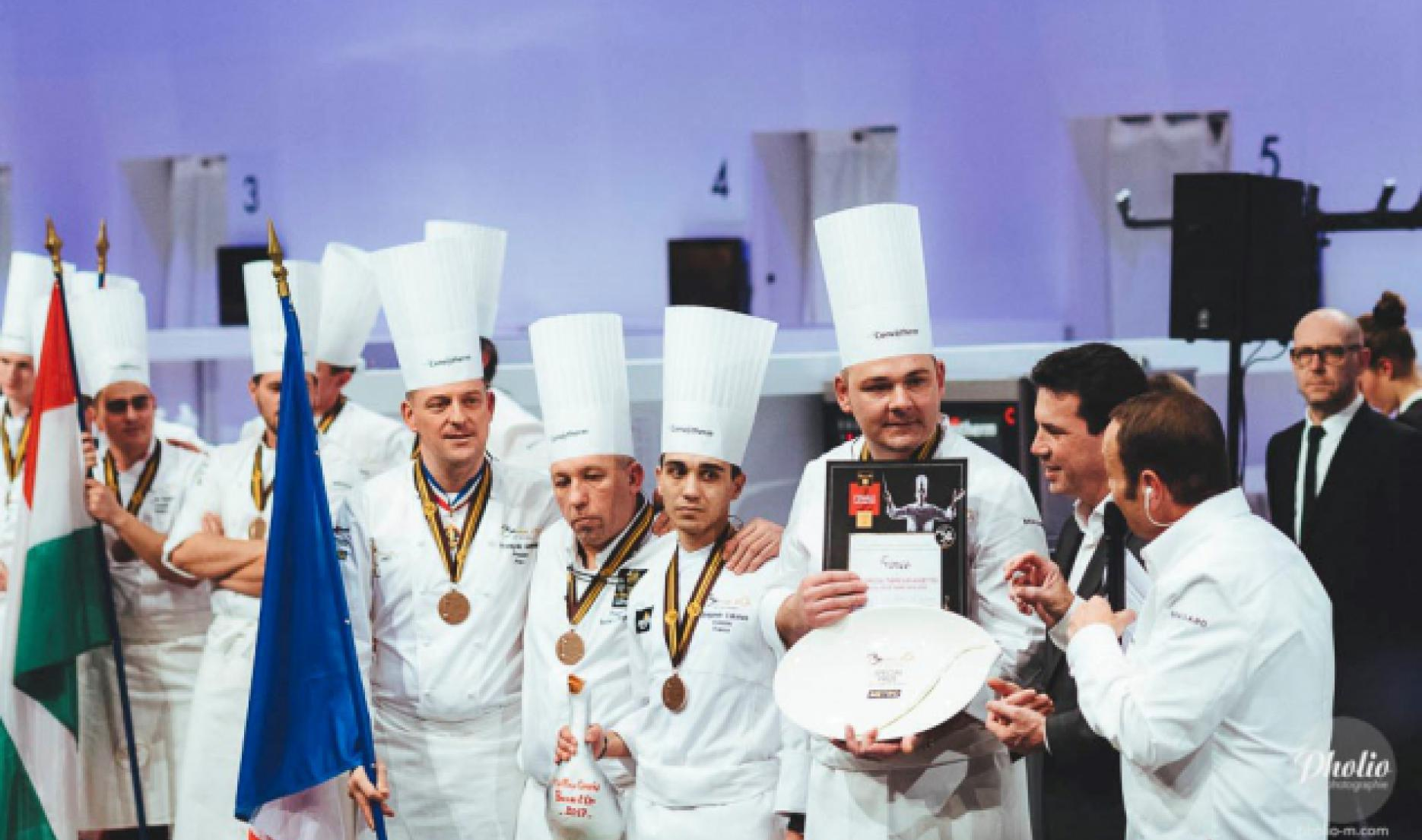 Benjamin Vakanas, Prize for the best second - Bocuse d'or 2017