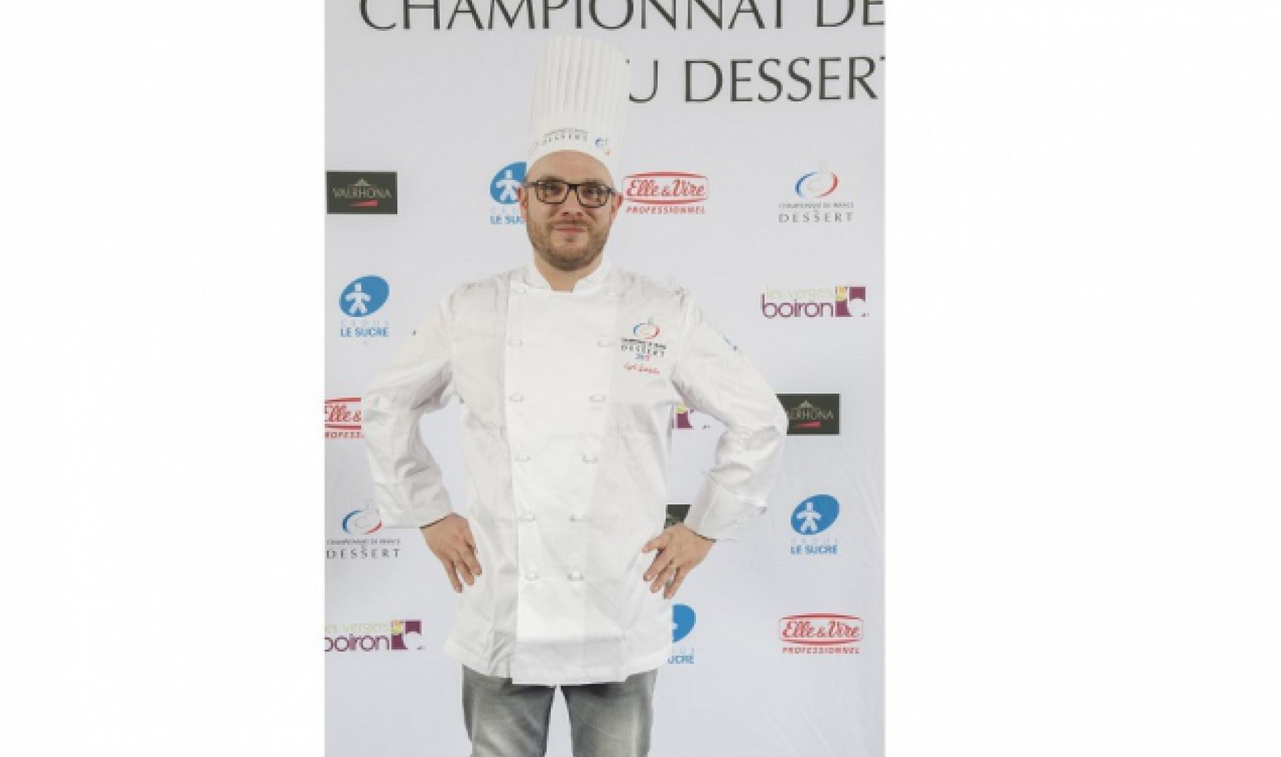 "Cyril Gaidella - Champion of France - Dessert 2017, category – ""professionals"""