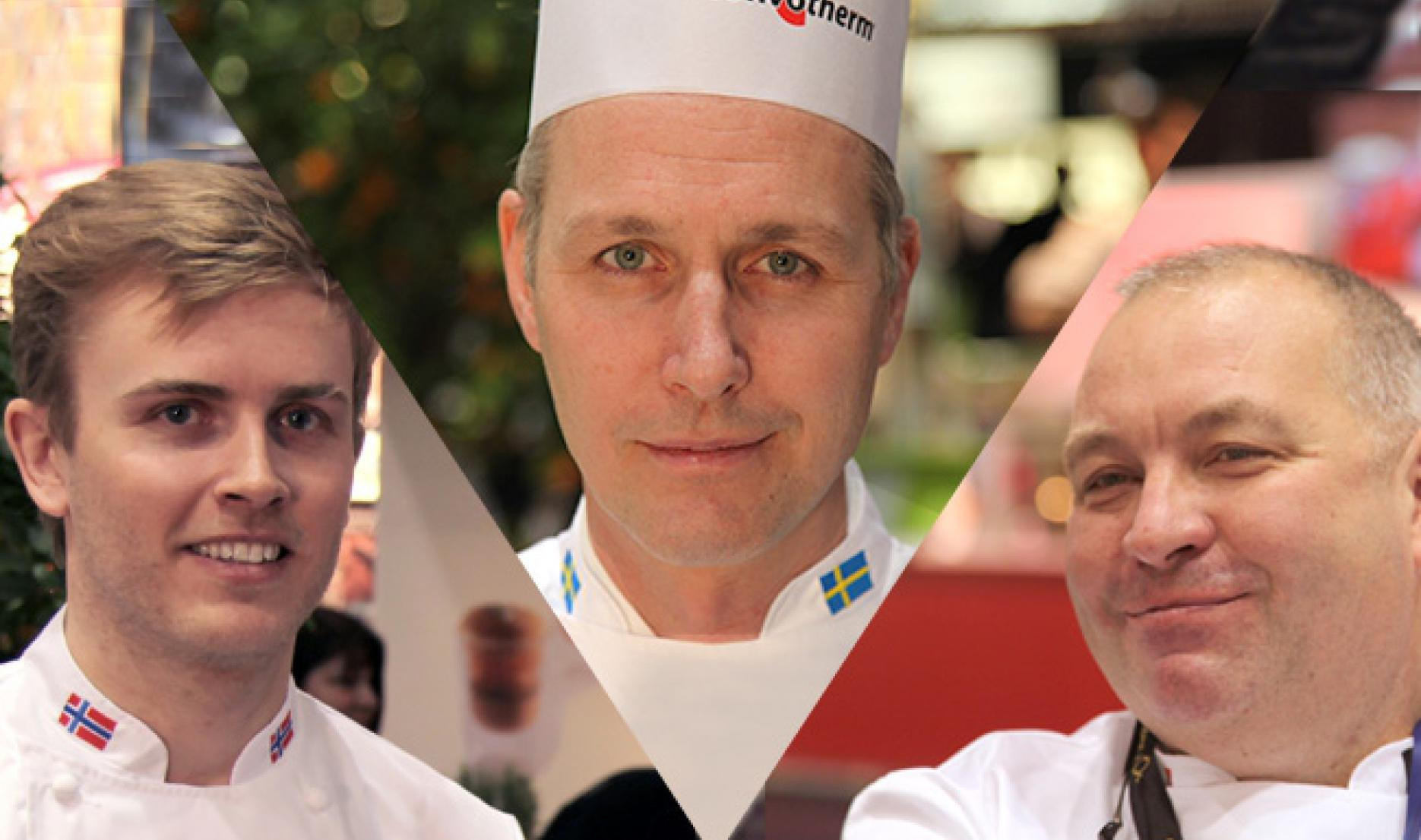 Geir Skeie, Henrik Norström and Ferdy Debecker, 3 Bocuse d'Or Winners, will host the winners