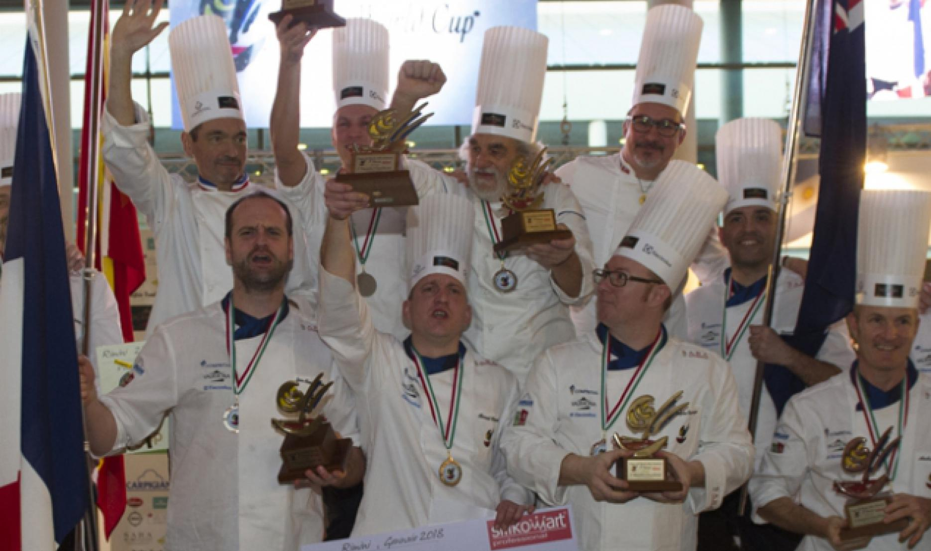 France Wins the 2018 Gelato World Cup!