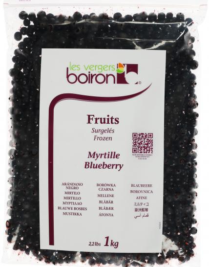 Fruits surgelés : Myrtille 1kg