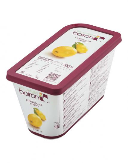 Frozen Fruit puree 100%: Lemon 1kg
