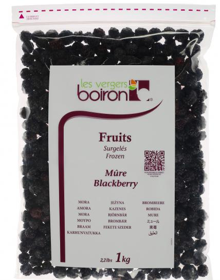 Frozen Fruits: Blackberry 1kg