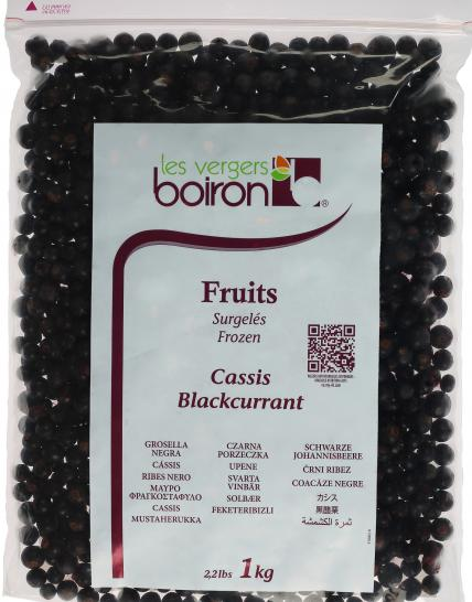 Frozen Fruits: Blackcurrant 1kg