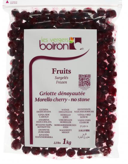 Frozen Fruits: Morello cherry no stone 1kg
