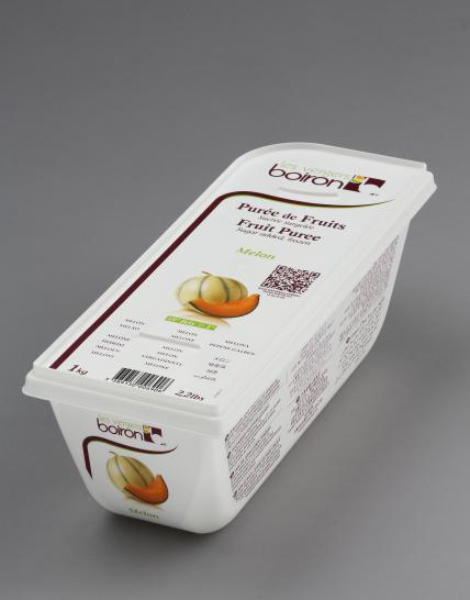 Frozen Fruit puree with added sugar: Melon 1kg