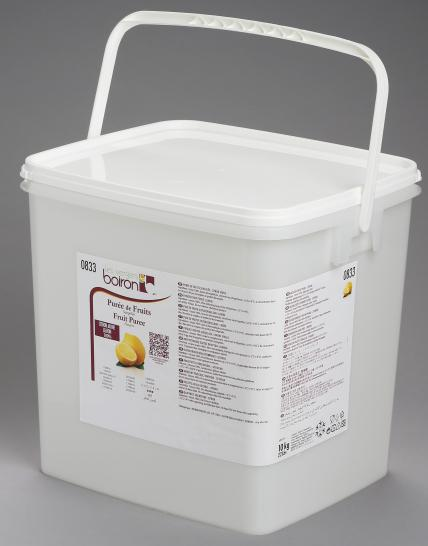 Frozen Fruit puree 100%: Lemon 1x10kg