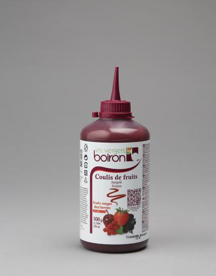 Frozen Coulis: Red berries 500g