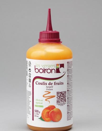 Coulis de fruits surgelé : Abricot 500g