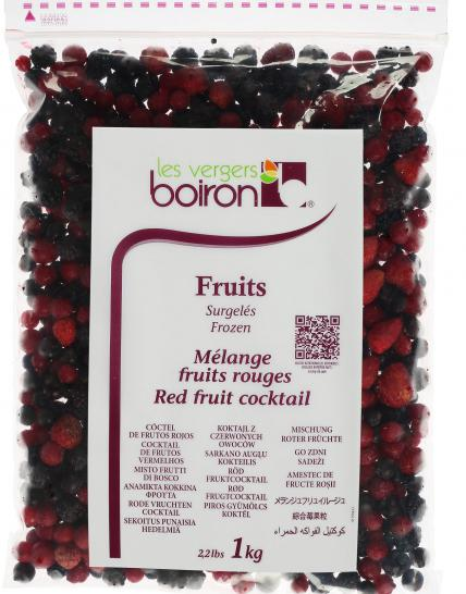 Frozen Fruits: Red fruit cocktail 1kg