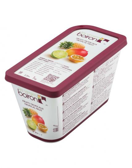 Frozen Fruit puree with added sugar: Tropical fruit 1kg