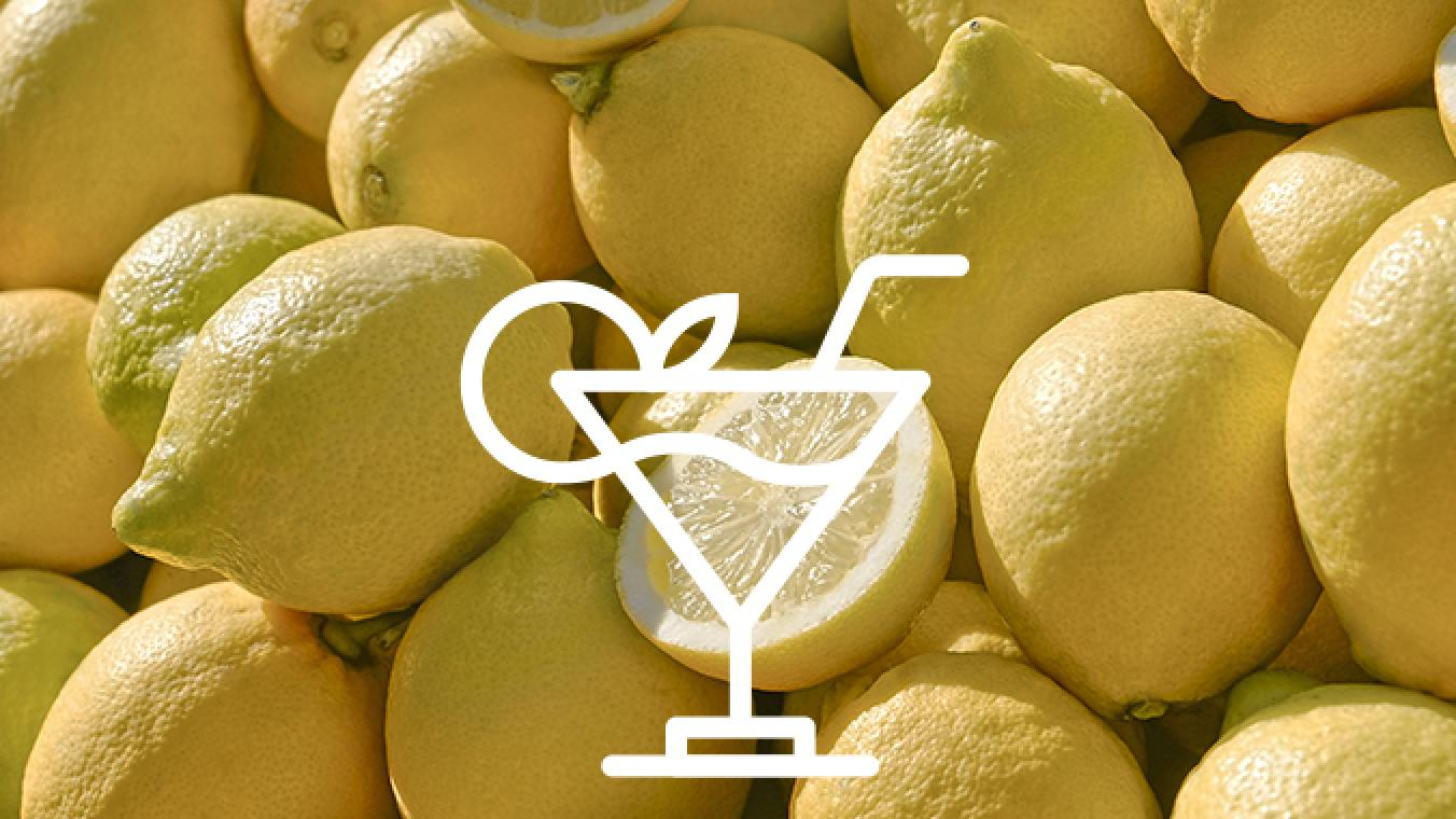 Whisky pear sour (mocktail)