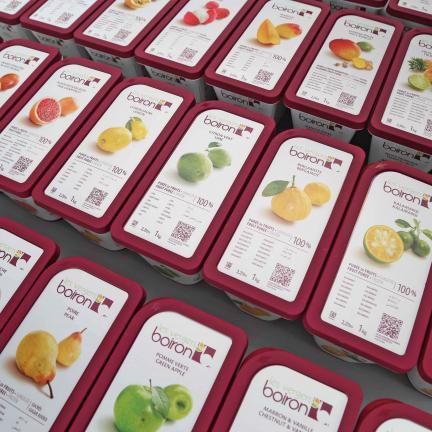 Les vergers Boiron : frozen fruit purées and coulis