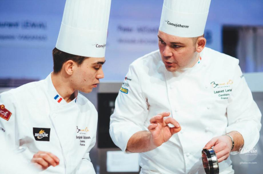 Laurent Lemal, Prize for the best vegetable dish - Bocuse d'or 2017