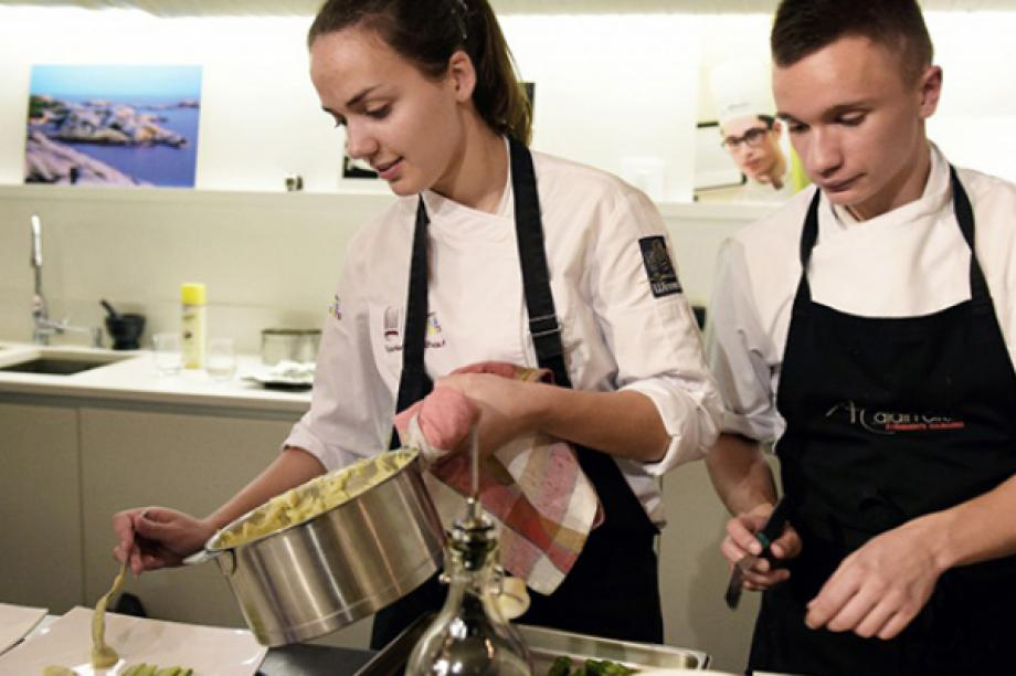 The Boiron Frères Young Talents Trophy has become an essential feature of the French culinary landscape.