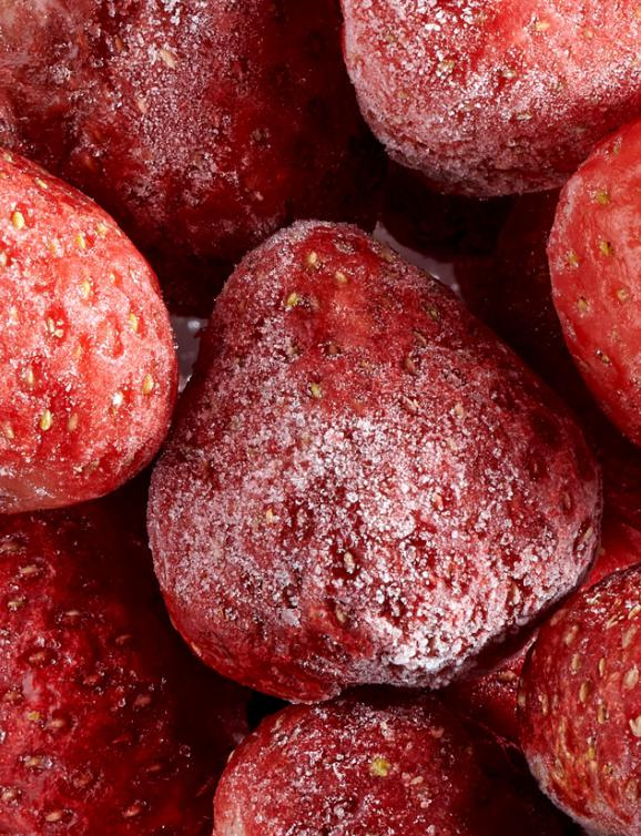 Frozen fruits IQF : Strawberry