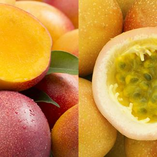 Mango & Passion fruit (Tropical fruits)