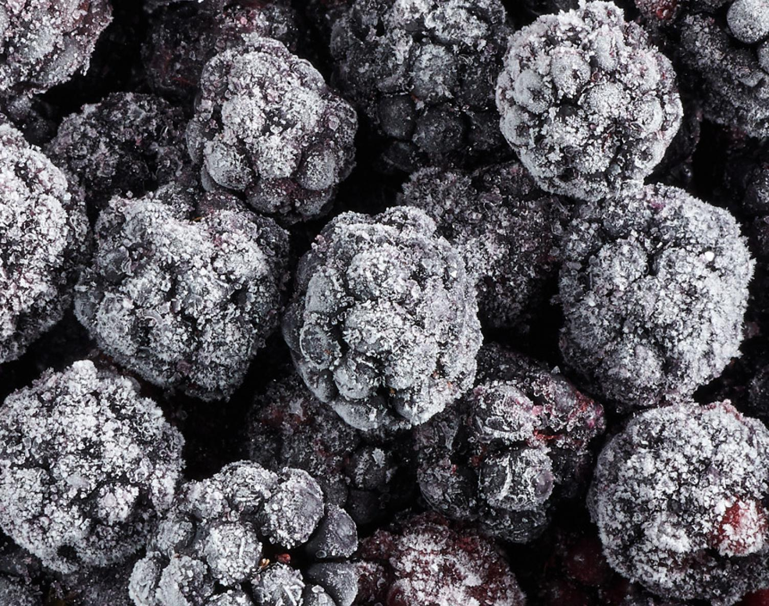 Frozen fruits IQF : Blackberry