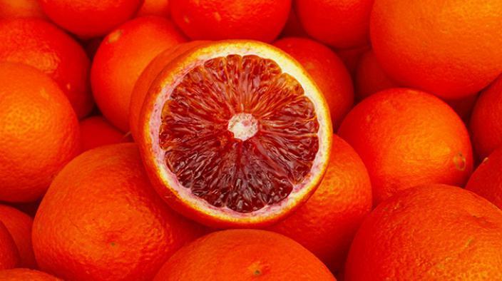 Blood orange syrup