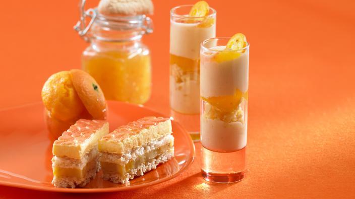 Gefrorene mandarine