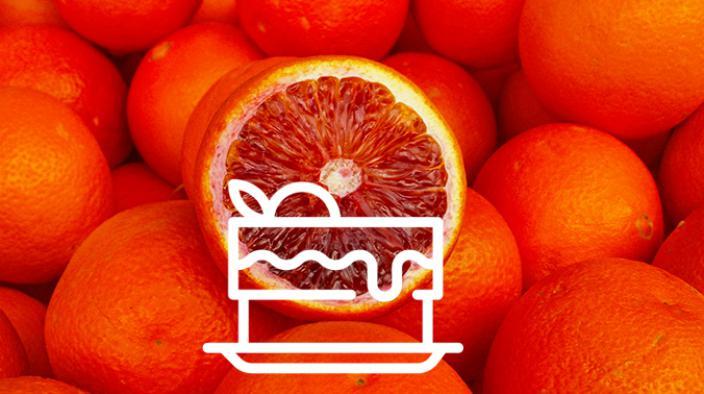 Verrine orange sanguine