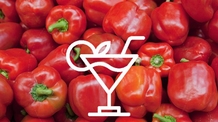 Tomato tequila red pepper
