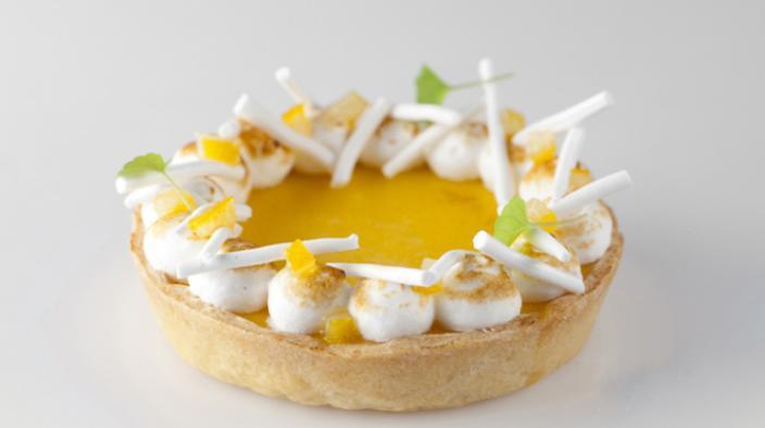 Tartelette citron et citronnelle