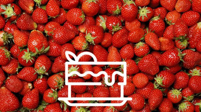 Soupe de fraise et fruits des bois