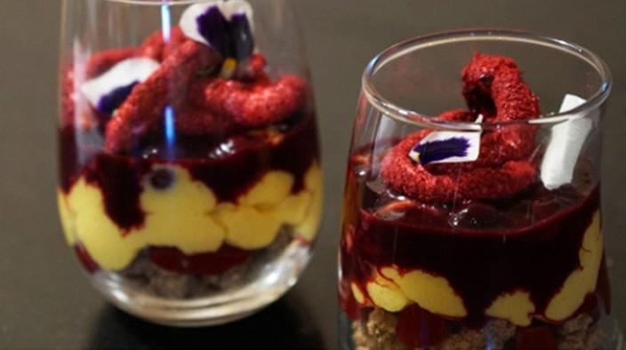 Dessert en verrine