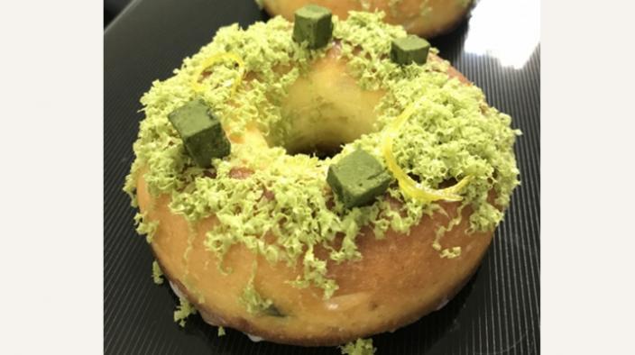 Cake donut au citron