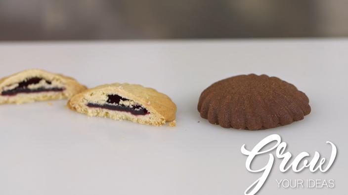 Blackberry cookie filling