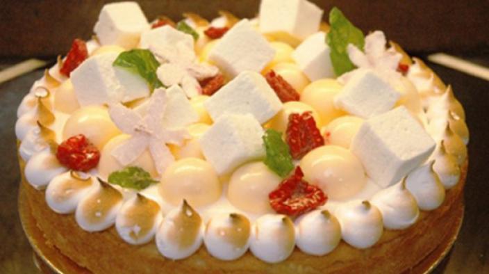 Bergamot tart