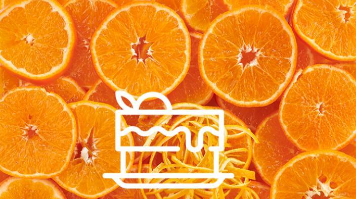 Citrus macaroon