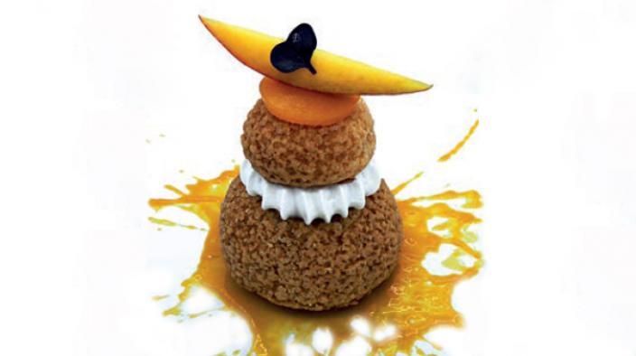 Windbeutel Mango-CurryKokos