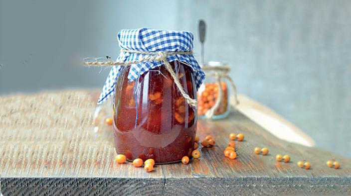 Confiture d'argousier et d'orange