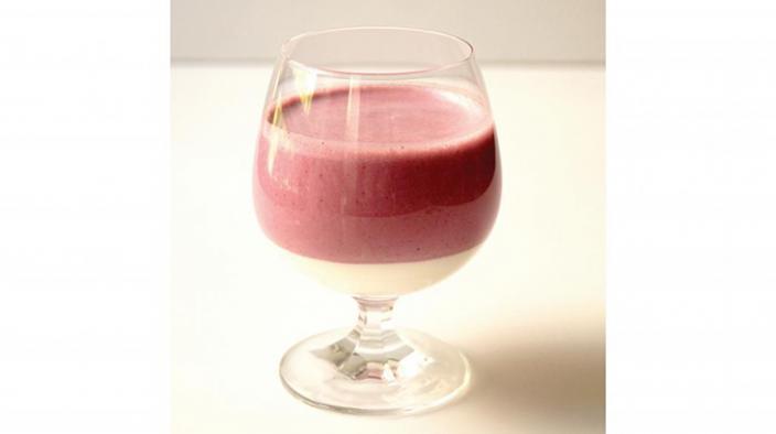 Blackberry Yogurt Smoothie