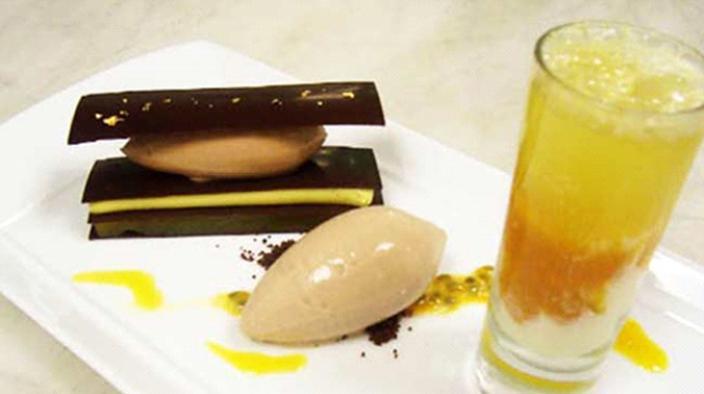 """Chocolat """"araguani"""" et fruit de la passion"""