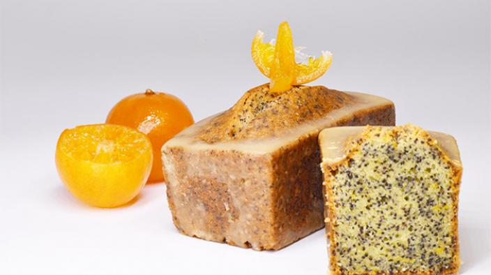 MANDARIN AND POPPY GATEAU DE VOYAGE