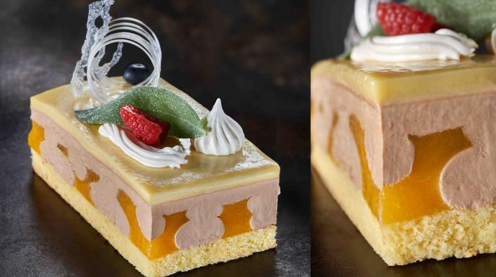 Kleiner Klementinenkuchen