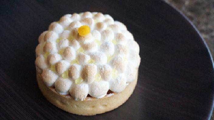 Lemon & kalamansi pie